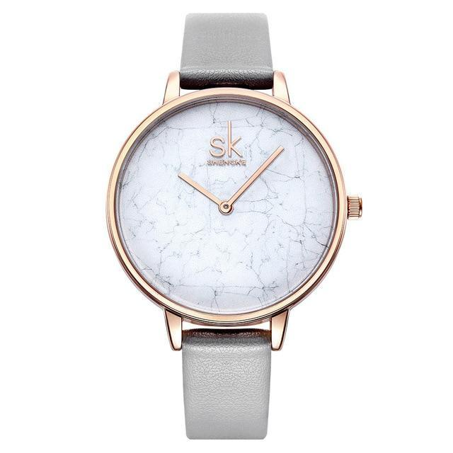 AMY Leather Strap Watch - Ellie J Shoppe