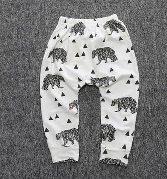 Printed Cotton Joggers - Ellie J Shoppe
