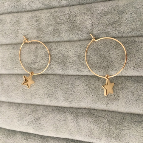 Erin Hoop Earrings - Ellie J Shoppe