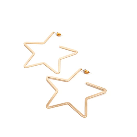 Edyn Star Earrings - Ellie J Shoppe