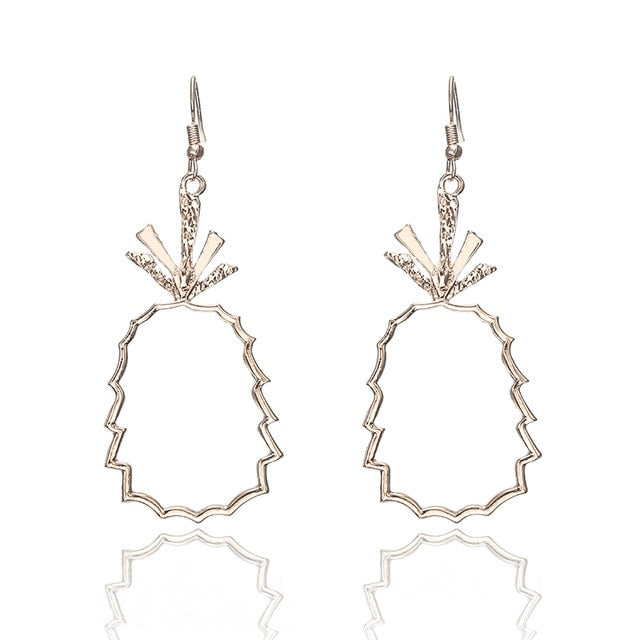 Cici Pineapple Earrings - Ellie J Shoppe