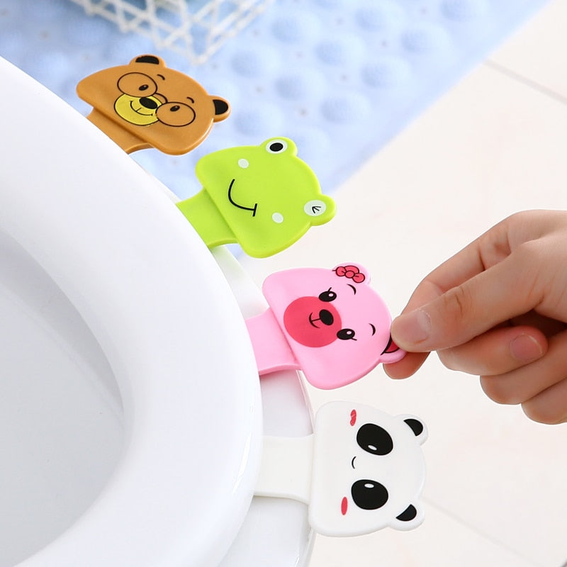 Animal Toilet Seat Lifter - 4 Pack - Ellie J Shoppe