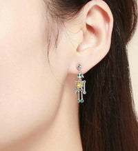 Juno Robot Earrings - Ellie J Shoppe