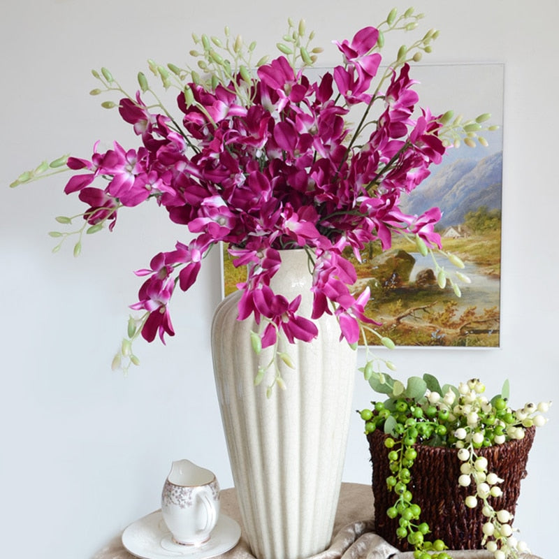 Faux Orchid Stem - Ellie J Shoppe