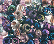 Czech Glass Seedbead 2/0 Metallic Mix
