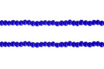 Blue Seed Beads 12/0