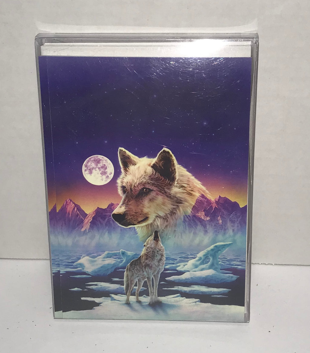 Christmas Cards - 10 pack - Howling Wolf