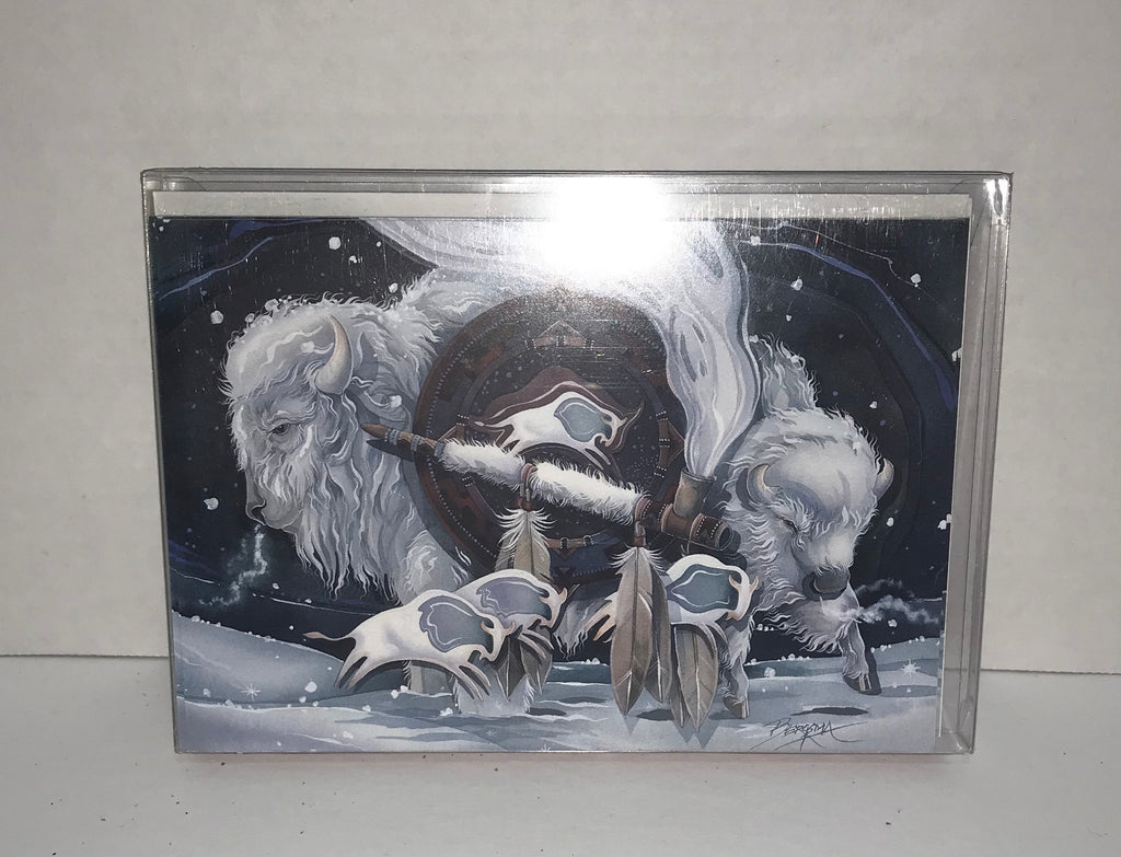 Christmas Cards - 10 pack - Pipe Buffalo