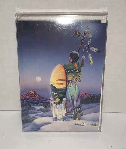 Christmas Cards - 10 pack - Woman Full Moon