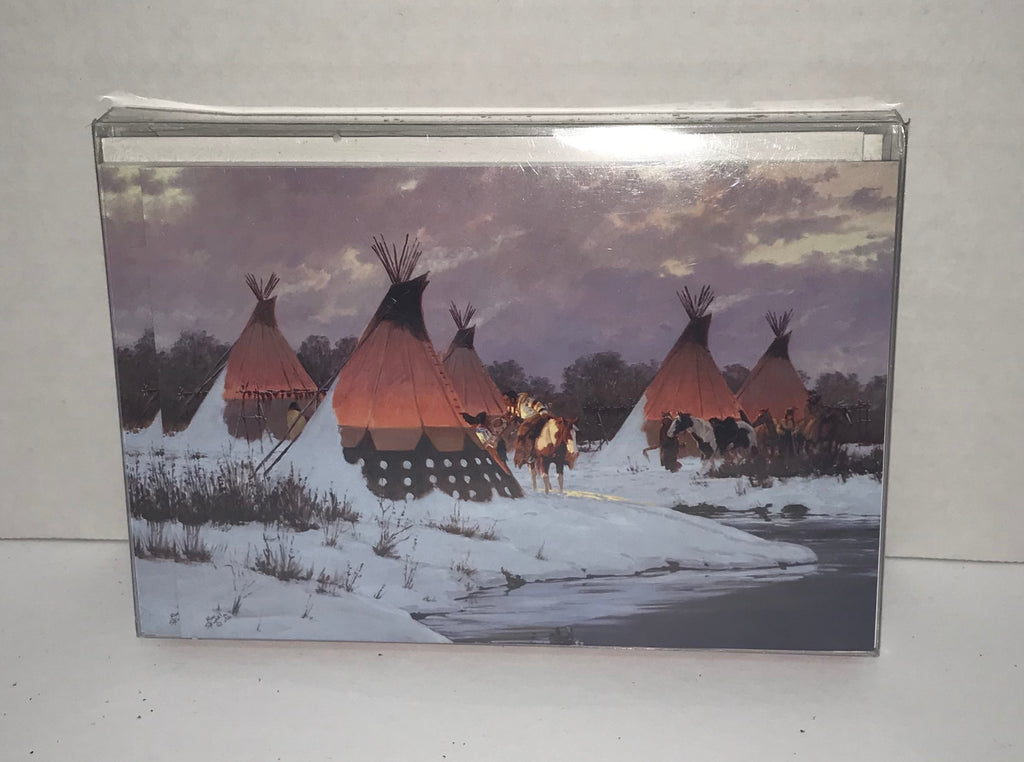 Christmas Cards - 10 pack - Teepee Village