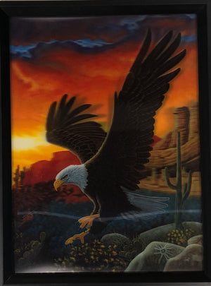 3D Holographic Eagle Picture