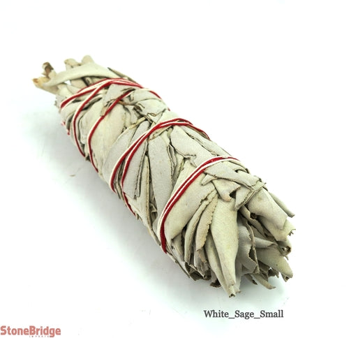 "Small White Sage wands 5"" long"