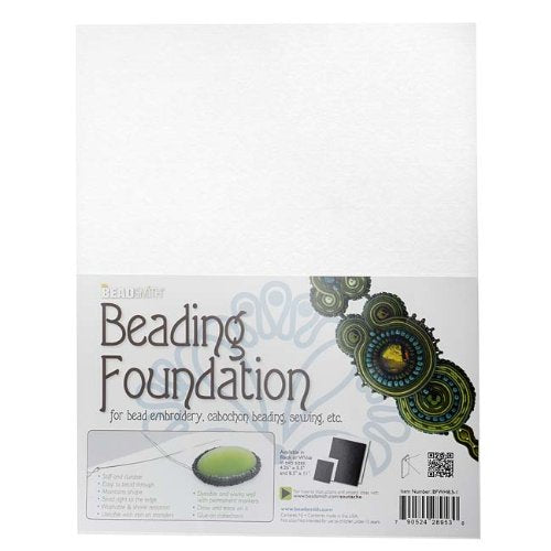 Beading Foundation 8.5 x 11, white (One Sheet)