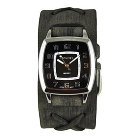 Black-Classic-Vintage-Watch-with-Faded-Black