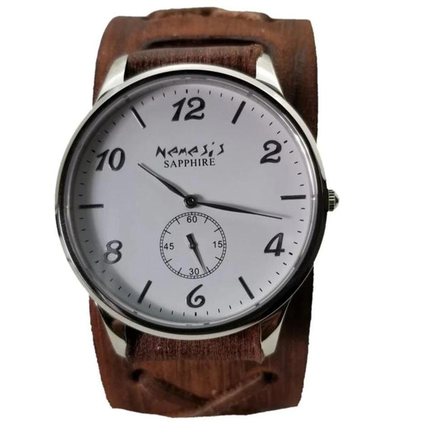 Nemesis Sapphire Crystal Glass<br>Brown/Black<br>Seconds Sub-dial<br>Style: BFXBN253W