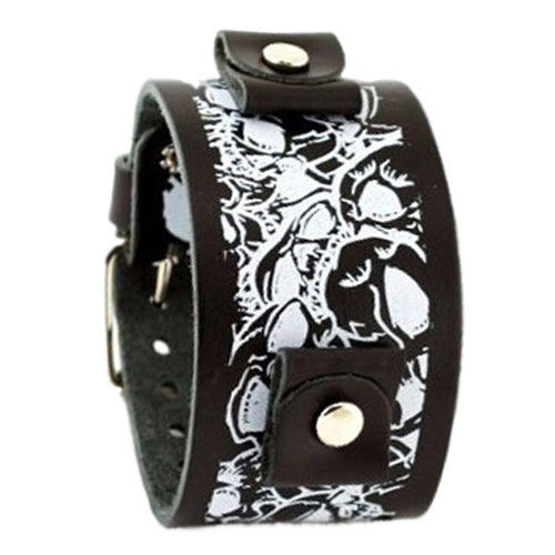 Large Multi-Skulls Black LMS