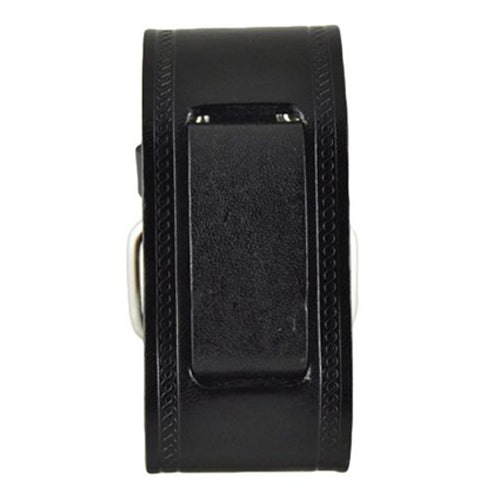 Medium black Embossed Strip Band HST-K