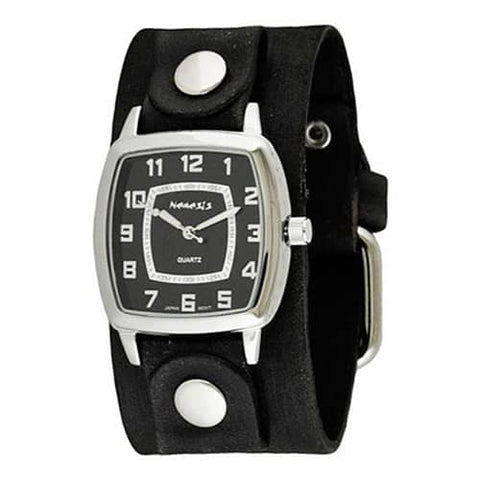 Black-Classic-Vintage-Ladies-Watch-with-Junior-Size-Faded
