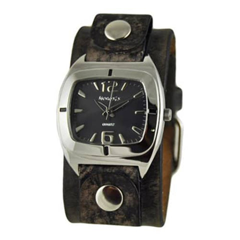 Black-Retro-Vintage-Watch-with-Classy-Faded