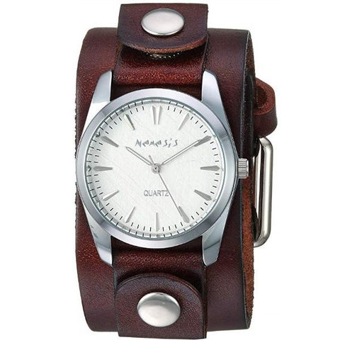 DGB223S Nemesis Women's Gala Stainless Steel Quartz Leather Strap