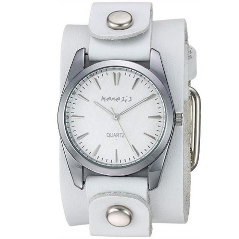 WGB223S Nemesis Women's Gala Stainless Steel Quartz Leather Strap