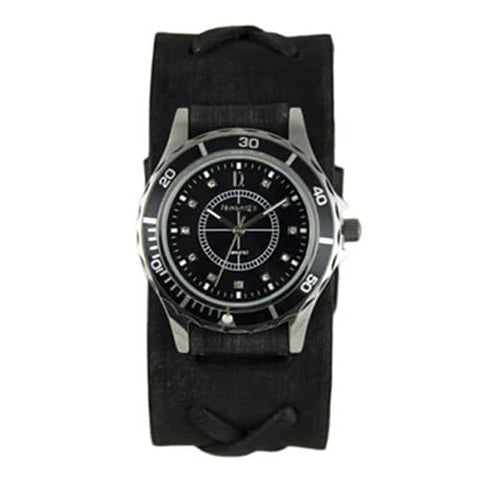 Black-Bella-Ladies-Watch-with-Faded-X-Black
