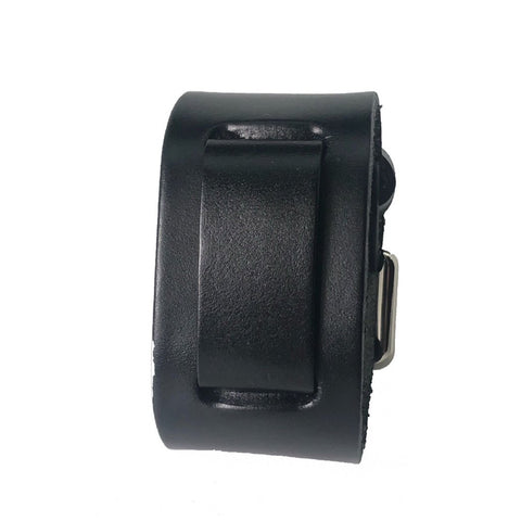 NPK Nemesisblack leather cuff band