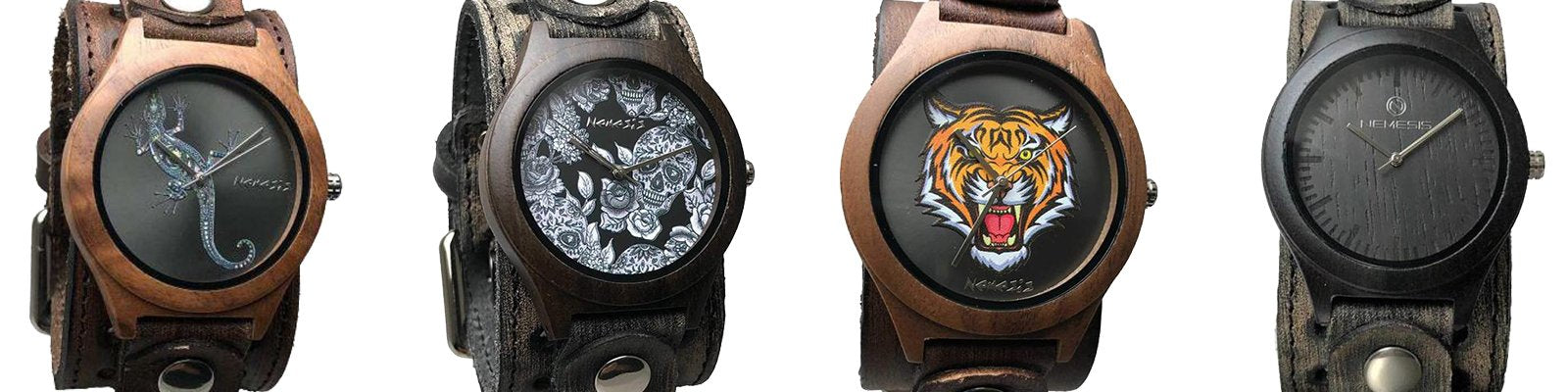 Wood Case Watch