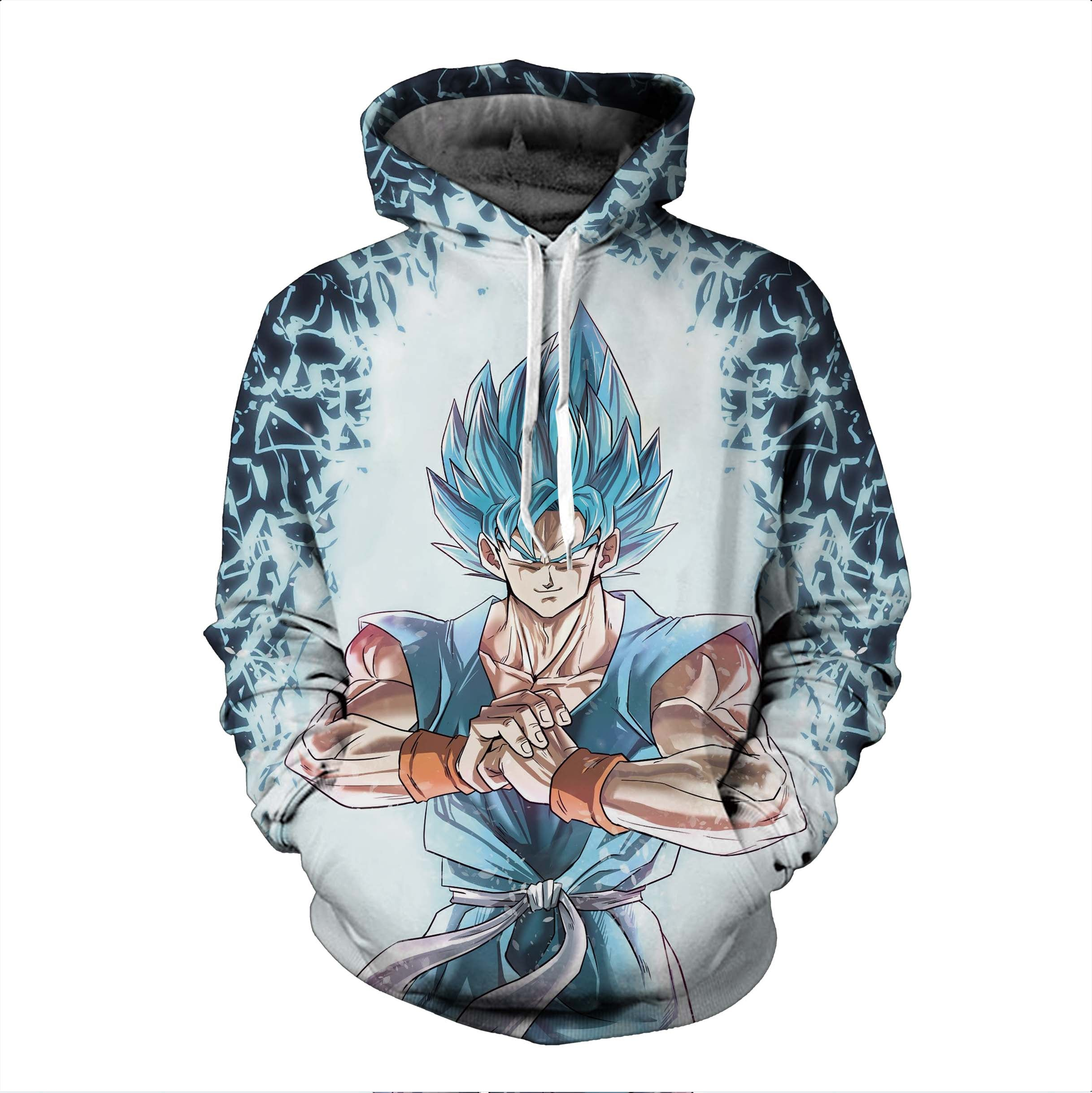 Dragon Ball Hoodies, 3D Clear Print, Best Quality : Design 6566