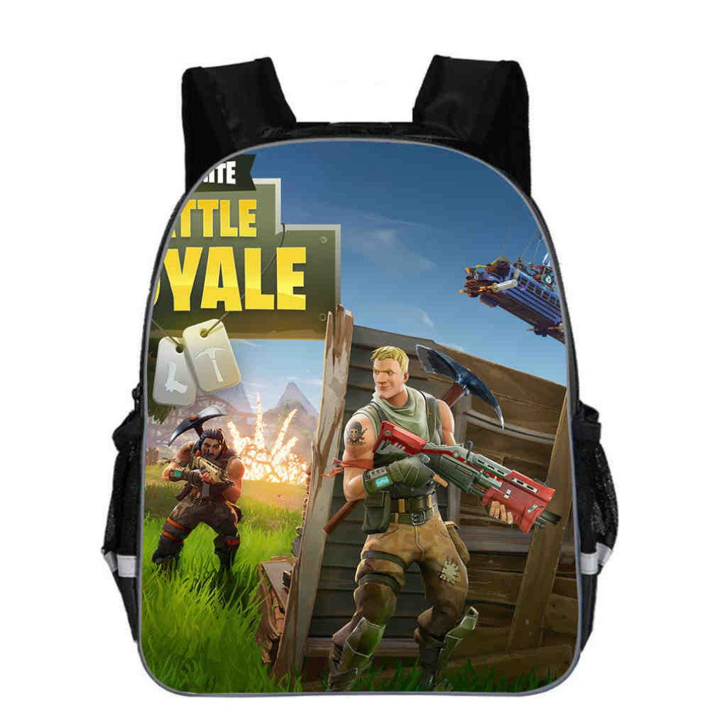 Fortnite Battle Royale Backpacks, Kids School Bag Z Design: 24