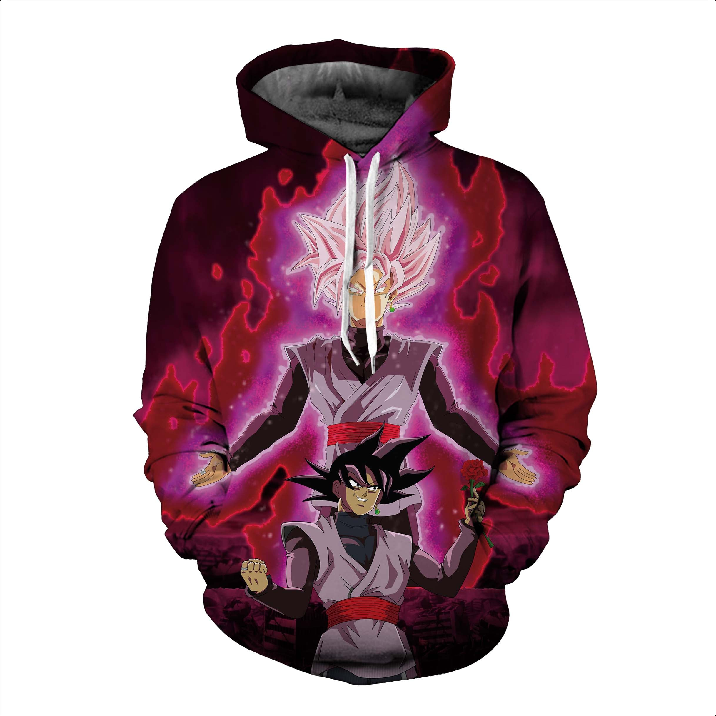 Dragon Ball Hoodies, 3D Clear Print, Best Quality : Design 6586