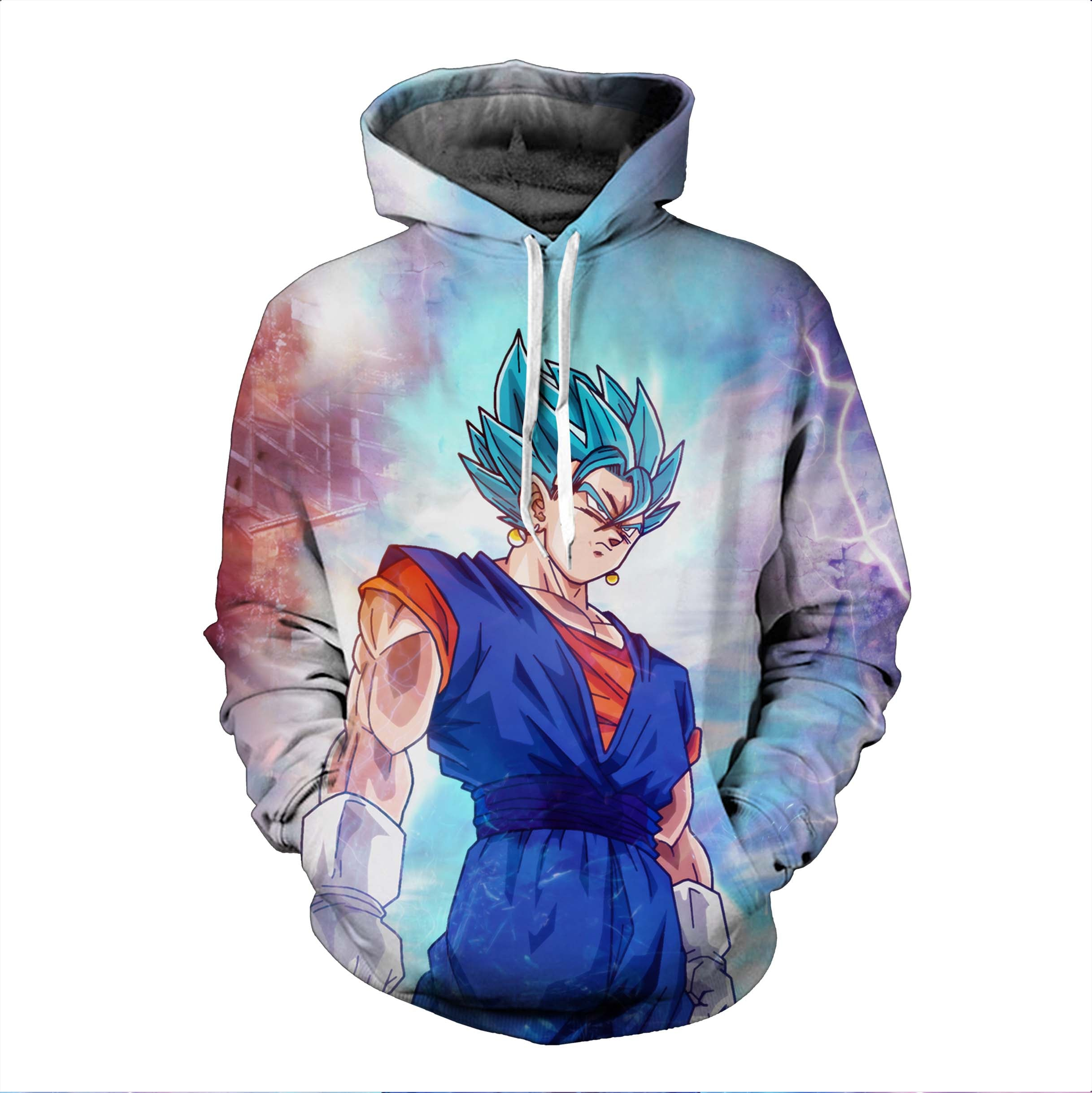 Dragon Ball Hoodies, 3D Clear Print, Best Quality : Design 6568