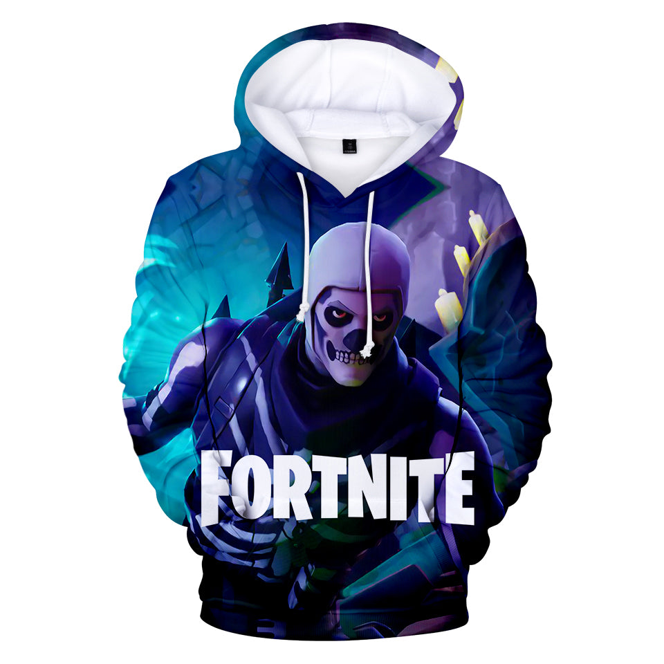 Fortnite Battle Royale Hoodie, T-Shirt, Skirt, Pants, One Piece, Base Ball Shirt: 409