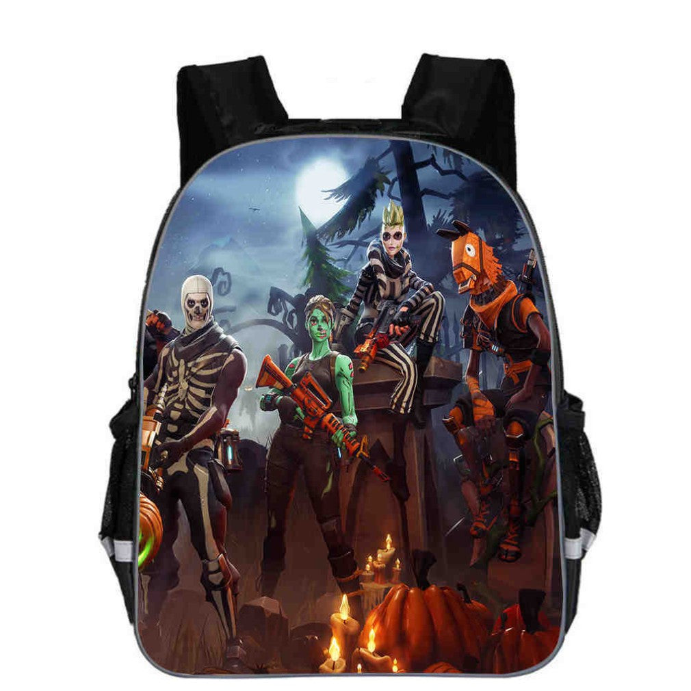 Fortnite Battle Royale Backpacks, Kids School Bag Z Design: 22