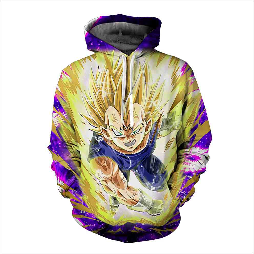 Dragon Ball Hoodies, 3D Clear Print, Best Quality : Design 6583