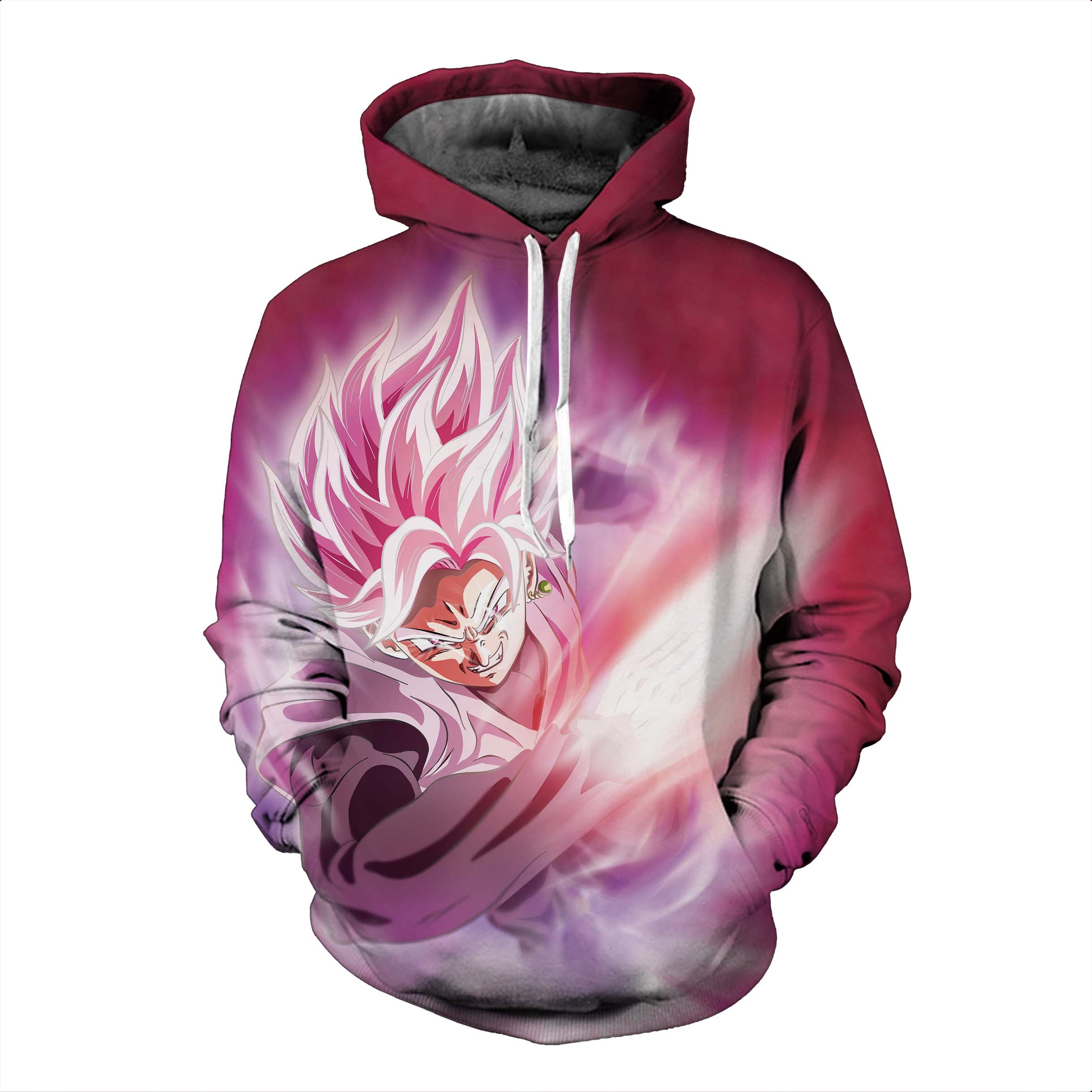 Dragon Ball Hoodies, 3D Clear Print, Best Quality : Design 6569