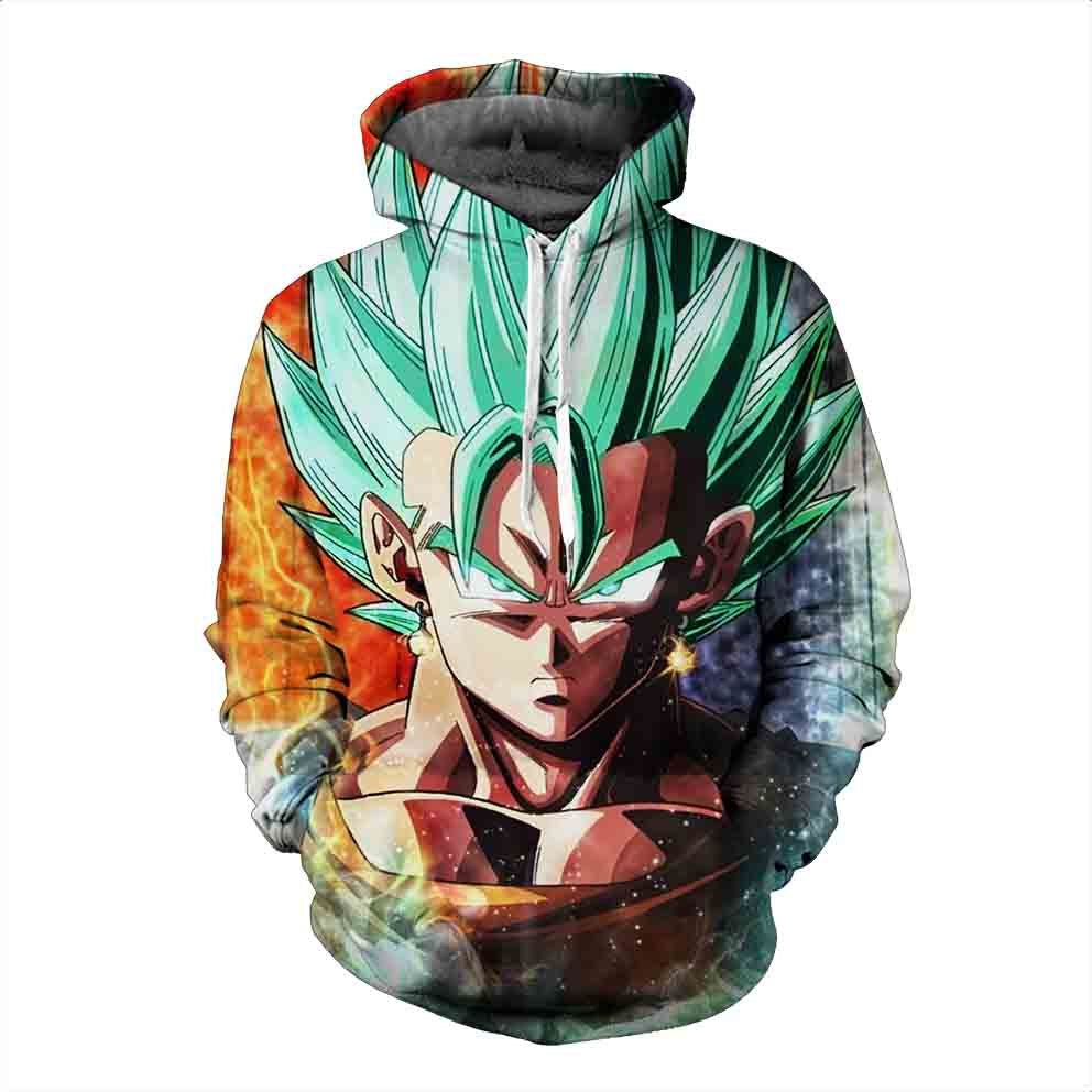 Dragon Ball Hoodies, 3D Clear Print, Best Quality : Design 6585