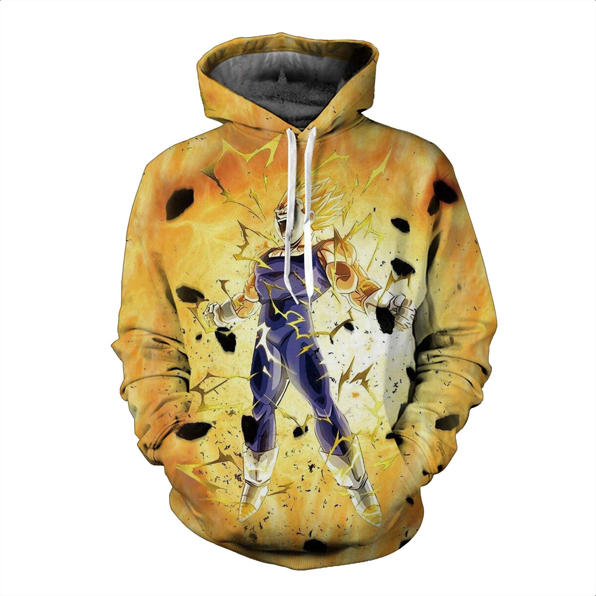 Dragon Ball Hoodies, 3D Clear Print, Best Quality : Design 6667