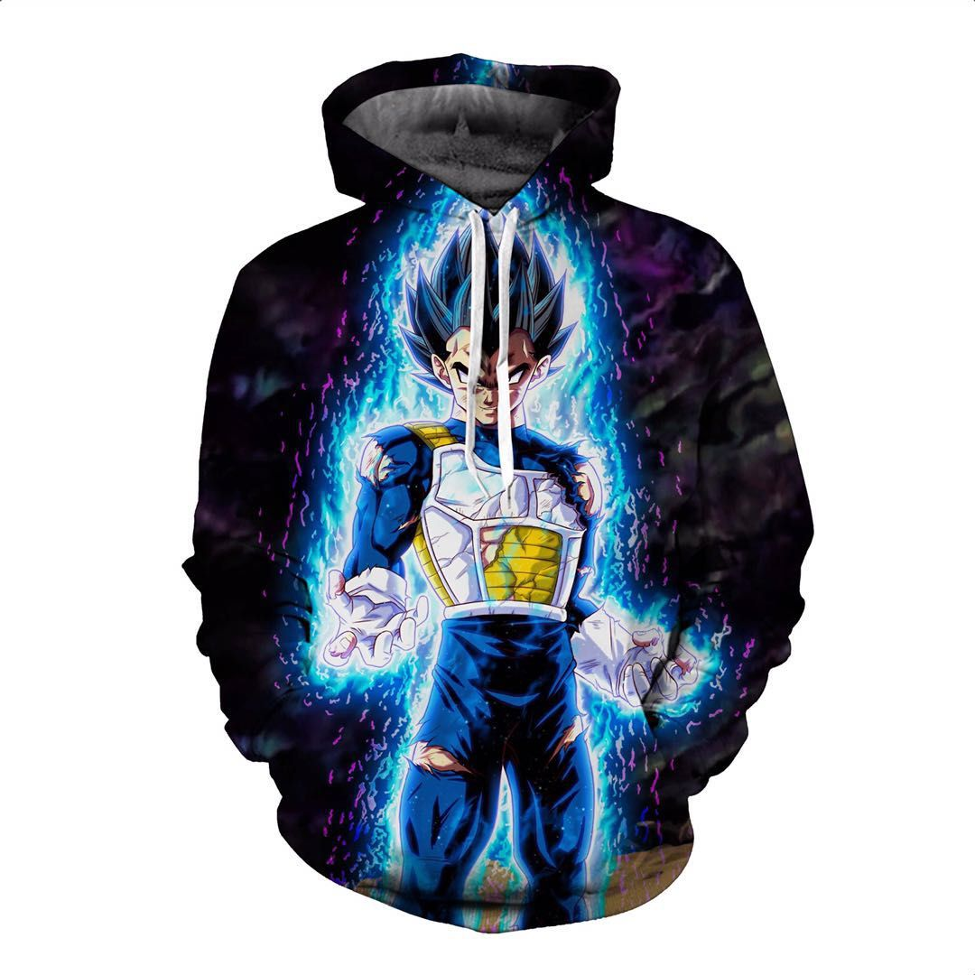 Dragon Ball Hoodies, 3D Clear Print, Best Quality : Design 6709