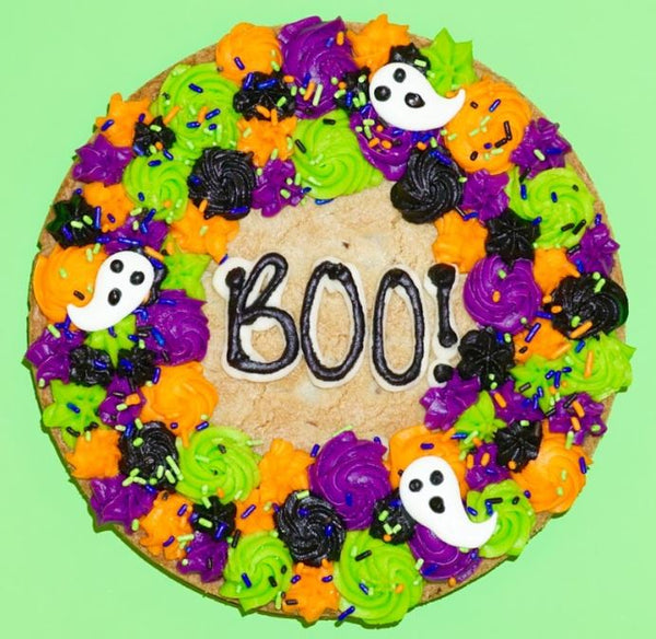 BOO! Cookie Cake