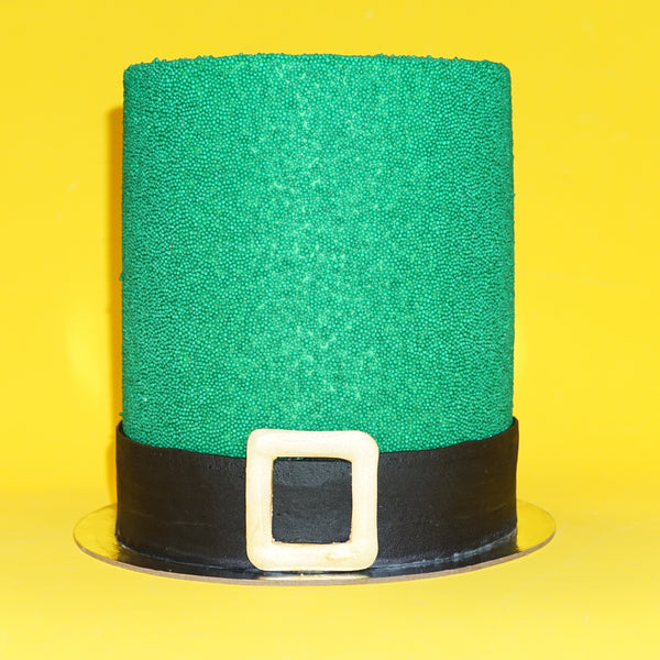 St. Patty's Explosion Cake