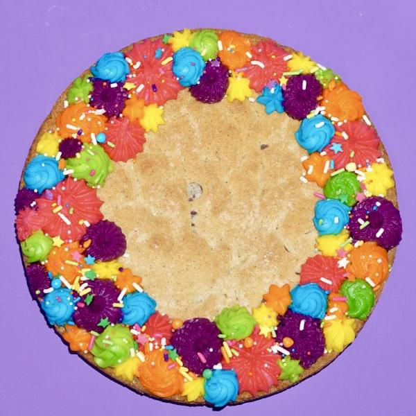 Rainbow Cookie Cake