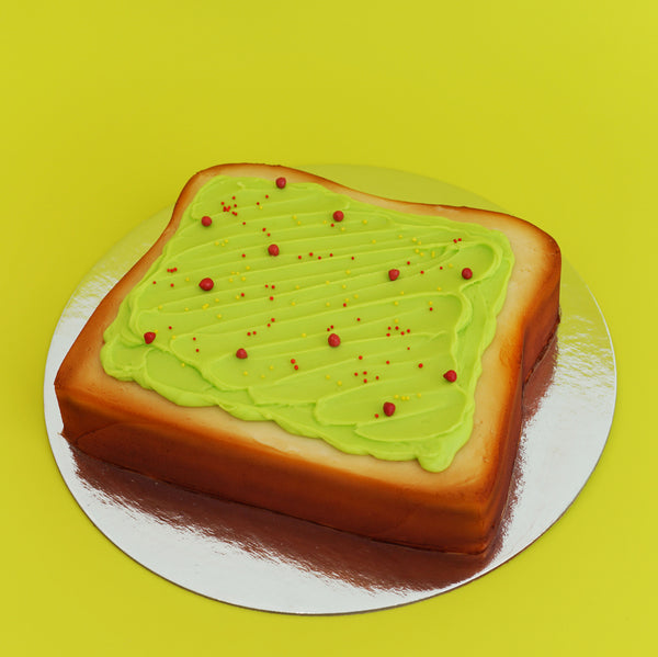 Avocado Toast Cake