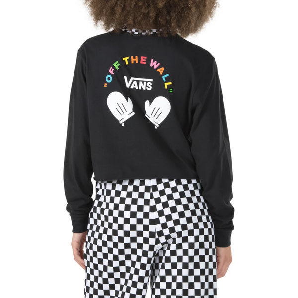 VANS X FLOUR SHOP SMILEY LONG SLEEVE TEE