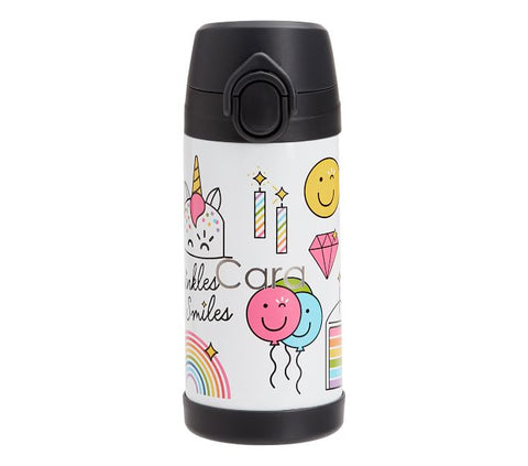 Flour Shop- Cara the Unicorn Water Bottle