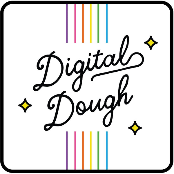 "Image with Flour Shop branding titled ""Digital Dough"""