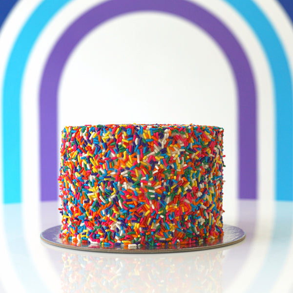 Fun Sized Funfetti Cake