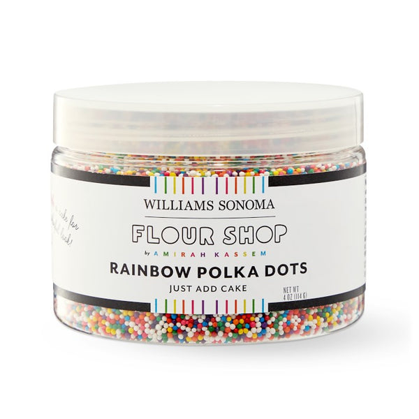 Rainbow Polka Dot Sprinkles