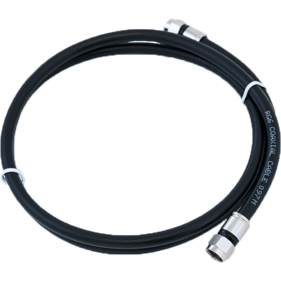 RG6 coaxial patch cable with F-type connections CPT-100