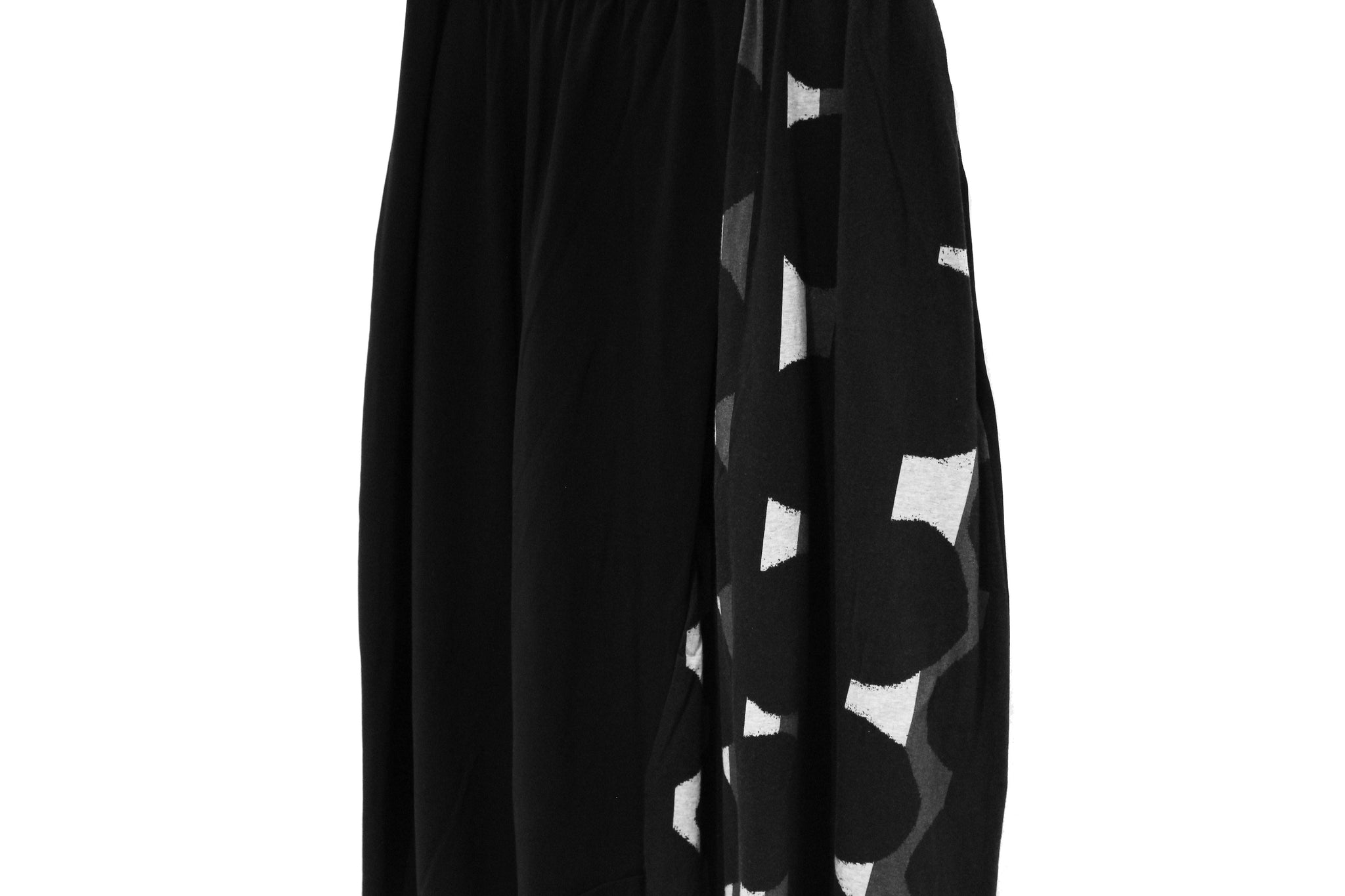 Mefu Black & White Harem Trousers